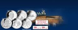 Alle 5 10€ Gedenkmünzen 2014 für je 10€ bestellen und 2€ Münze GRATIS bekommen @MDM