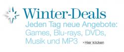 Amazon Winterdeals – jeden Tag neue Games, Blu-rays, DVDs, Musik und MP3 im Angebot