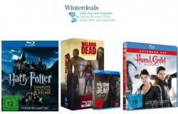 Amazon Winterdeals: The Walking Dead (3. Staffel) für 55,97€, Harry Potter – Complete Collection ab 19,97€ usw.