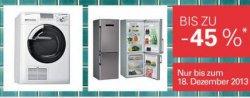 Bauknecht Sale bei eBay, z.B. die Bauknecht WA UNIQ 944 Waschmaschine für nur 499€ – nur bis 18.Dez.