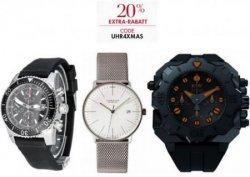 Bei Amazon: 20% Extra-Rabatt auf ausgewählte Uhren mit Gutscheincode UHR4XMAS