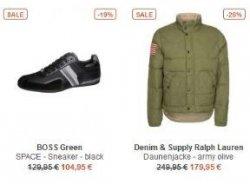 Bei Zalando: Designer Sale mit 20% Gutschein auf ausgewählte Premium Marken wie Hugo Boss, Polo Ralph Lauren…