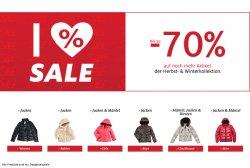 Bis zu 70% Rabatt auf die Herbst- und Winterkollektion bei  C&A