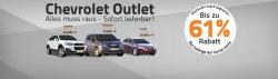 Chevrolet Outlet-Sale bei Autohaus24 bis zu 61% Rabatt Neuwagen ab 5000€