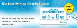 Conrad 15€ Gutscheincode (MBW 50€) gültig bis 01.01.2014 eigentlich für Conrad.at wird bei Conrad,de auch angenommen
