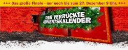 Das große Finale im verrückten Adventskalender von MediaMarkt bis zum 27.12 / 9 Uhr