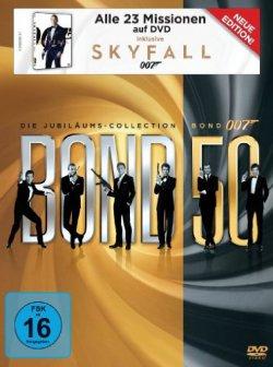 DAS Mörder-Geschenk: James Bond 007 Jubiläums-Collection inkl. Skyfall für 69,97€ bei den Amazon Winterdeals