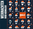 DMAX Adventskalender (Gewinnspiel)