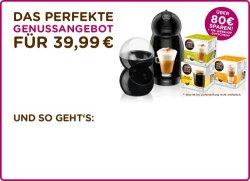 Dolce Gusto Paket über 80€ günstiger – nur 39,99€ + 10€ Shopgutschein + Versandkostenfrei
