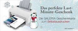 @ Galeria Kaufhof, Gutschein ausdrucken als Last Minute Geschenk