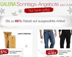 Galeria Kaufhof Sonntags – Angebote