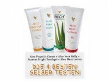 Gratis: 4 x Aloe Vera Produkte + versandkostenfrei @aloemarkt.de