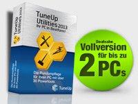 Gratis Artikel bei Pearl TuneUp: Utilities 2013 OEM 2-Platz-Version (+4,90€ Versand)