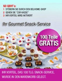 Gratis Geschenk 100tlg. Snack Service oder 18tlg. Kaffeeservice @belhome