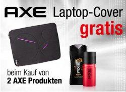 Gratis Laptop-Cover beim Kauf von 2 Axe-Produkten @Amazon