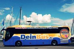 Gutschein für DeinBus  -Leipzig -Wolfsburg -Hamburg