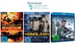 Hammerschnäppchen heute bei den Amazon Winterdeals: Homeland auf DVD/Blu-ray ab 15,97€, Oblivion oder Schlag den Raab für PS3, Wii