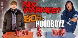 HOODBOYZ bis zu 80% Rabatt auf Jacken & Anzüge bis 05.12.2013 @hoodboyz.de