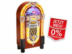 Karcher Jukebox JB 6604 mit CD/MP3-Player, USB/SD, Radio Lightshow @Lidl.de für 433,95€