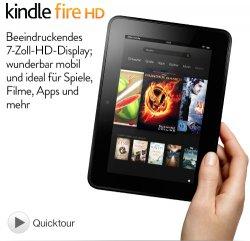 Kindle Fire-HD (Vorgängermodell) mit 16GB für 99€ oder 32 GB für 129€ VSK Lieferung @Amazon