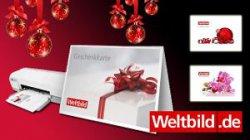 Last Minute, Geschenkkarte zum ausdrucken @ weltbild.de