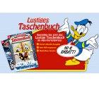 Lustiges Taschenbuch Jahresabo für 28 Euro (statt 78 Euro)