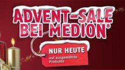 Advent-Sale bei Medion, nur heute 40% Rabatt + kostenloser Versand @medion.com
