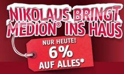 Medion: Gutscheincode zu Nicolaus 6% auf Alles !