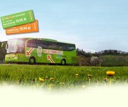 MeinFernbus Gutscheine für 20€ Kurzstrecke oder 40€ Langstrecke (Hin- und Zurück)@Tchibo