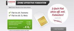 mobilecom : Kostenlos Aktion 0,-€ für Internetflat 300MB + Festnetzflat + O2 Flat !
