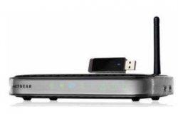 NETGEAR WNB1100 150Mbit/s WLAN-Router + USB-Stick Kit für nur 19,90€ bei cyberport [Idealo: ~27€]