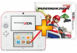 Nintendo 2DS für 109 EUR und Mario Kart 7 gratis dazu @Amazon
