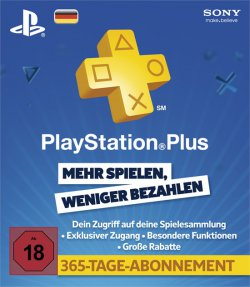 Playstation Plus Live Card PSN 365 Tage für 33,33€ @Amazon
