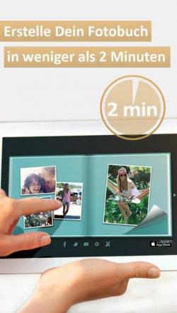 Premium Fotobuch App für iOS und Android  GRATIS statt 4,49 € + VSK frei + Gratis Minikalender