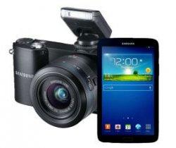 SAMSUNG NX 1100+20-50mm +Galaxy Tab 3 7.0 8GB für 349€ zzgl.Versandkosten @saturn.de