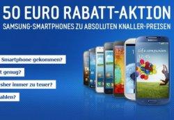 Samsung Smartphones wieder 50€ günstiger bei Notebooksbilliger