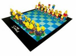 Schachspiel The Simpsons für 22,49 Euro mit Gutscheincode bei Elfen.de (Nur noch heute)