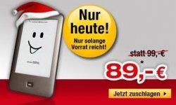 Tolino Shine für 89 EUR bei Bücher.de