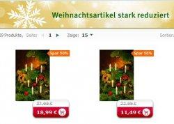 Weihnachtsartikel bei Rossman Online Shop bis zu 50% stark reduziert Nur für kurze Zeit