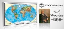 Weltkarte XXL von Wenscjoe 1,53m x 0,94 m nur 9,97€ @Amazon