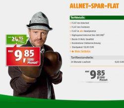 WIEDER DA! Klarmobil.de D1-Netz Allnet-Flat (500MB) für nur 9,85 € / Monat @groupon
