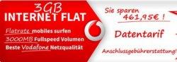 WOW ! 3GB Vodafone Internet Flatratefür nur 1,95€ im Monat bei handy2day.de durch Einmalzahlung