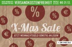 X-Mas Sale bei Titus.de