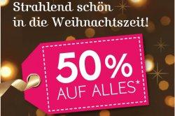 Yves Rocher: 50 % auf Alles ab 4,95€, Advendskalender und Gratisgeschenk ab 20€