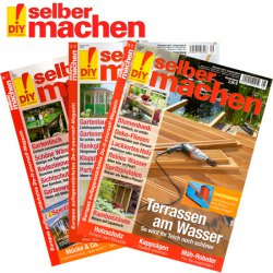 """Zeitschrift """"selber machen"""" für 13 Monate mit 16,00 Euro Gewinn dank Bargeldscheck"""