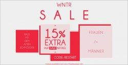 15% Extra Rabatt auf Sale Ware im Kolibrishop
