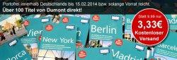 150 verschiedene Dumont Reiseführer für 3,33€ statt 9,99€ inkl. Versand @terrashop