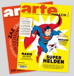2 Ausgaben des ARTE Magazins gibt es gratis und portofrei