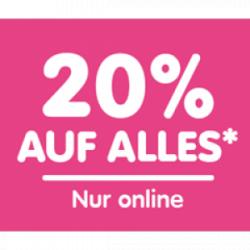 20% Rabattgutschein auf reduzierte Waren @NKD.de