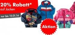 20% Rabattaktion auf Jacken von Jack Wolfskin, North Face etc. für Kinder + 15€ druch Gutscheine @mytoys.de